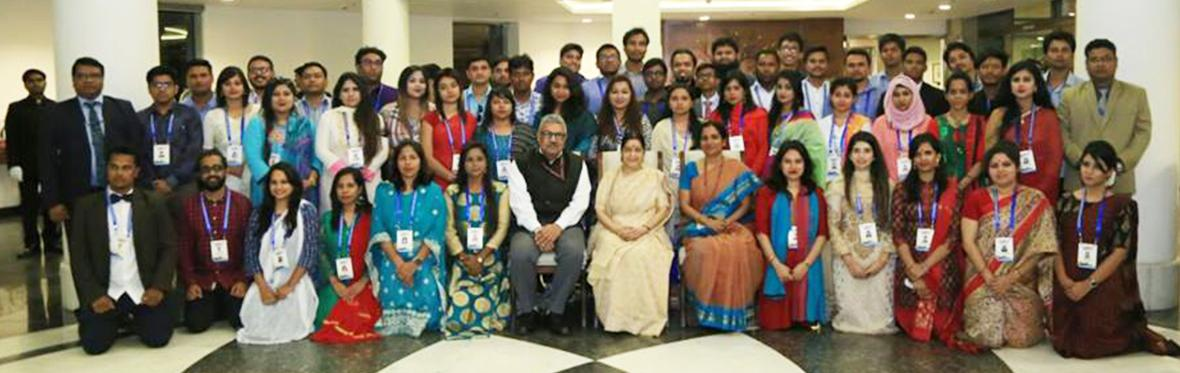 Bangladeshi Youth delegation meeting